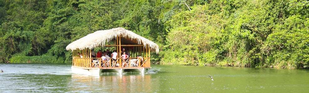 Chavon River Cruise: away from civilization