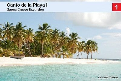 Canto de la Playa 1 - best beach on Saona Island