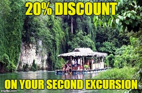 2nd excursion discount