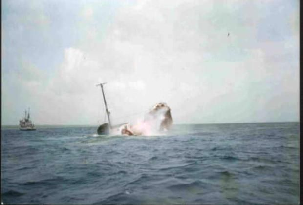 The Saint George is sunken near Bayahibe