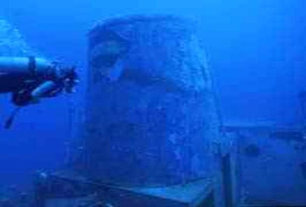 The wreck of the Saint George functions as an artificial reef