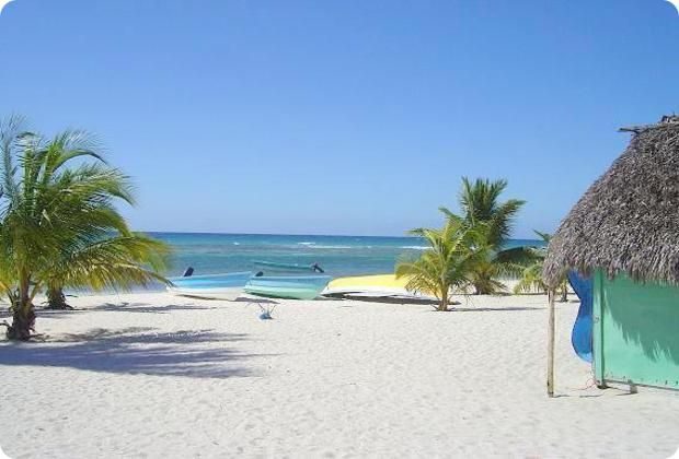 View of Mano Juan, one of the stops on the Saona Crusoe VIP excursion from Punta Cana and Bayahibe