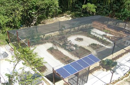 Butterfly Garden arial view