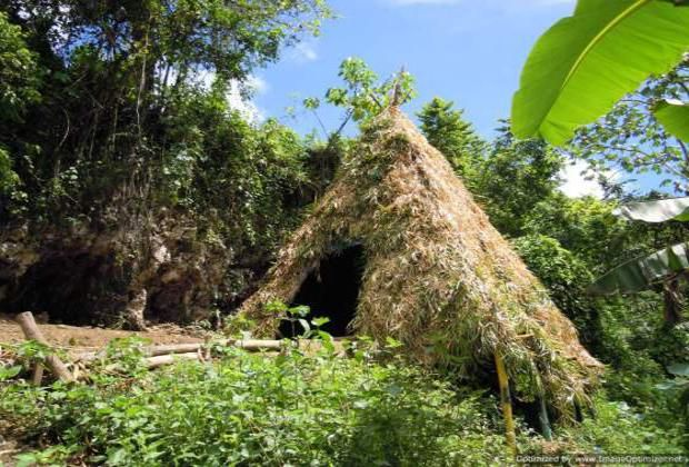 Taino hut on farm